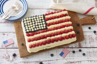 Delicious Memorial Day Cake