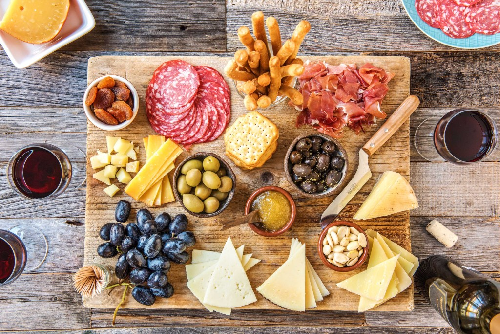 appetizers for a crowd-cheese-platter-HelloFresh