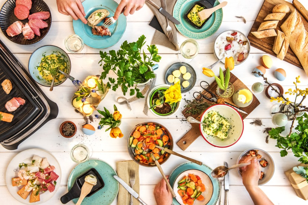 Reservation-in-HelloFresh-cooking at home