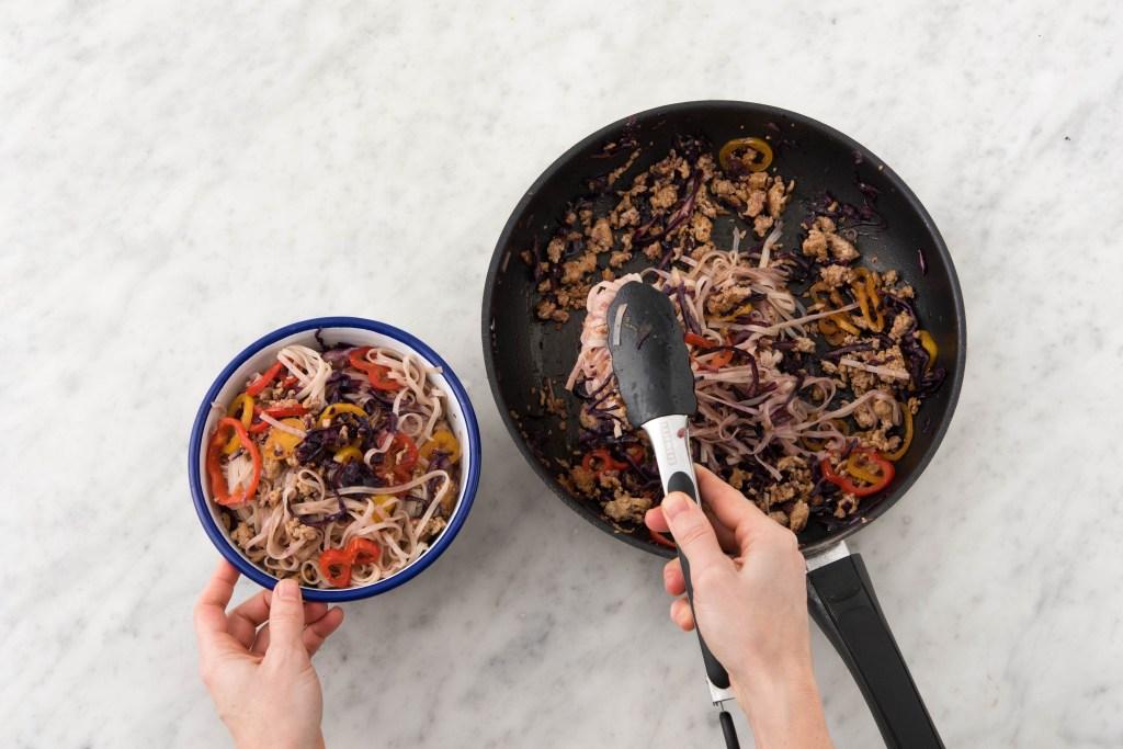 Thai-pork-stir-fry-rice noodle-HelloFresh