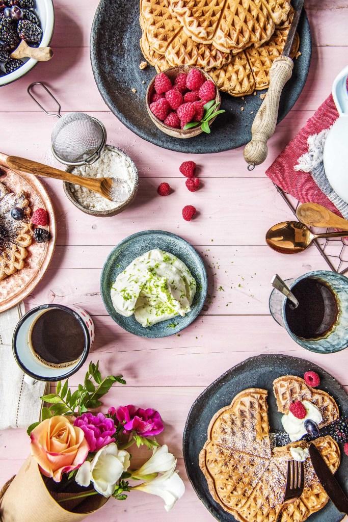 easy breakfast recipes-waffles-HelloFresh