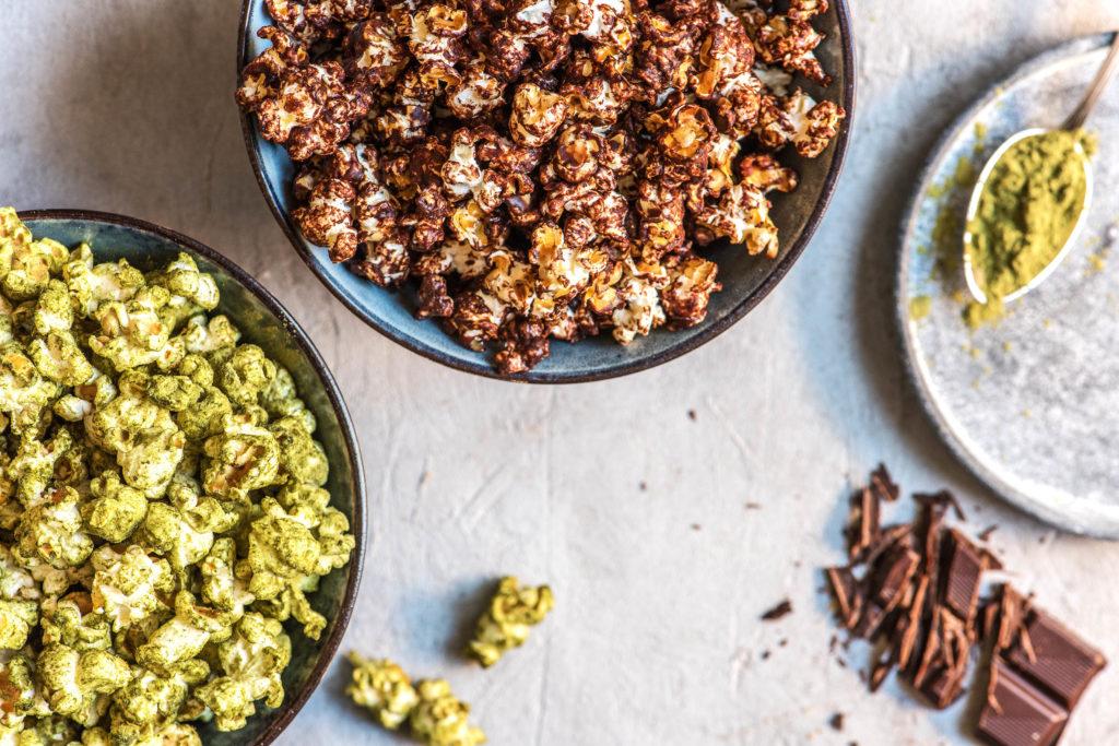 flavored popcorn-chocolate-sea-salt-recipe-HelloFresh