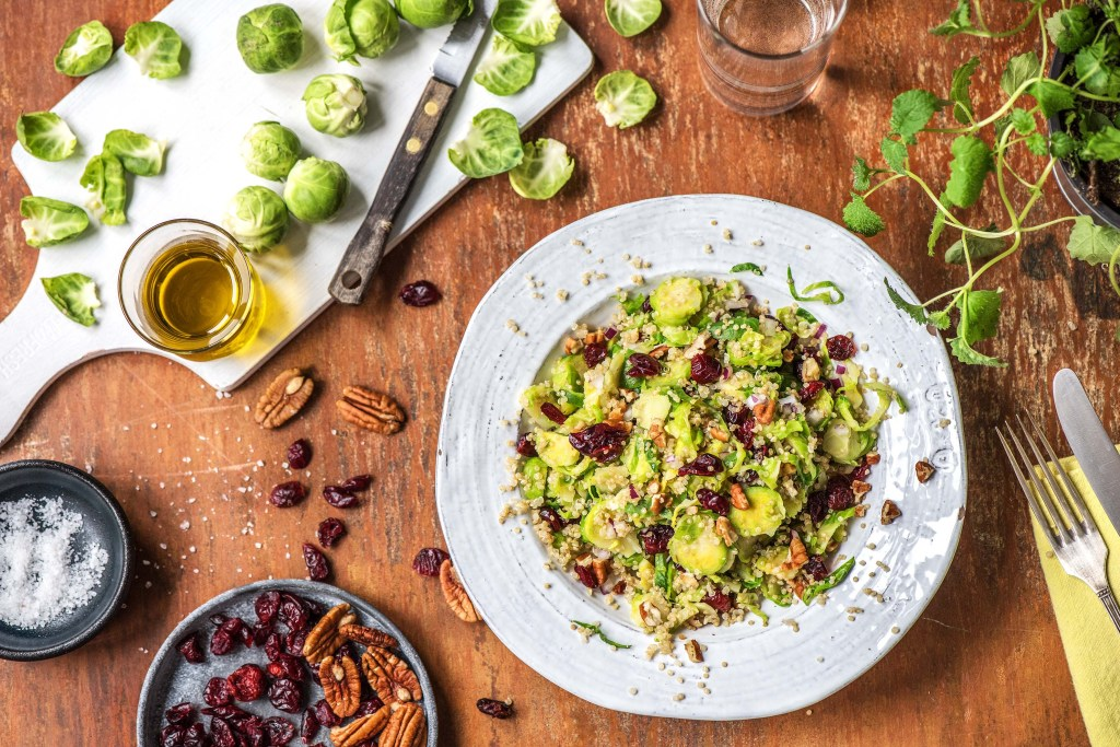 green recipes-Brussels-sprouts-quinoa-salad-HelloFresh