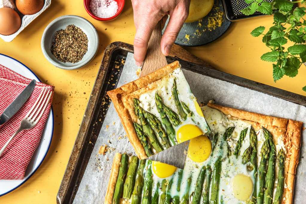 asparagus-goat-cheese-tart-recipe-HelloFresh-how to cook asparagus
