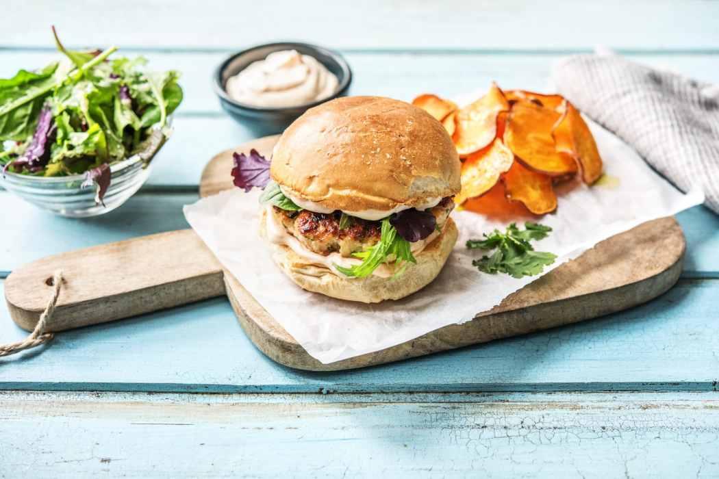 Hall of Fame-favorite food-turkey-burger-HelloFresh