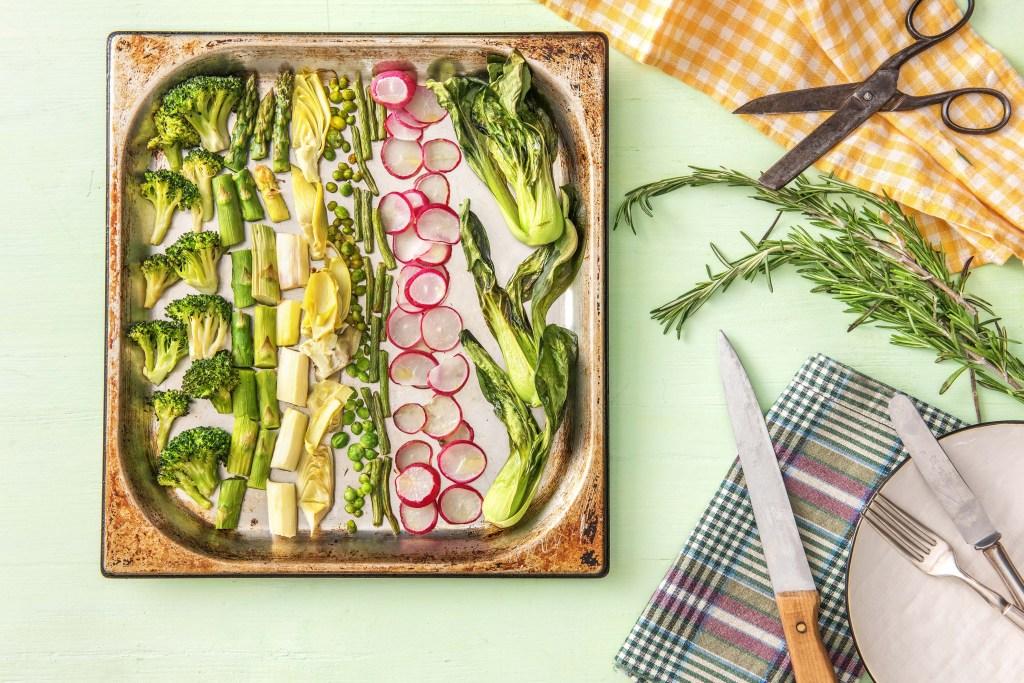 spring vegetables-HelloFresh-seasonal