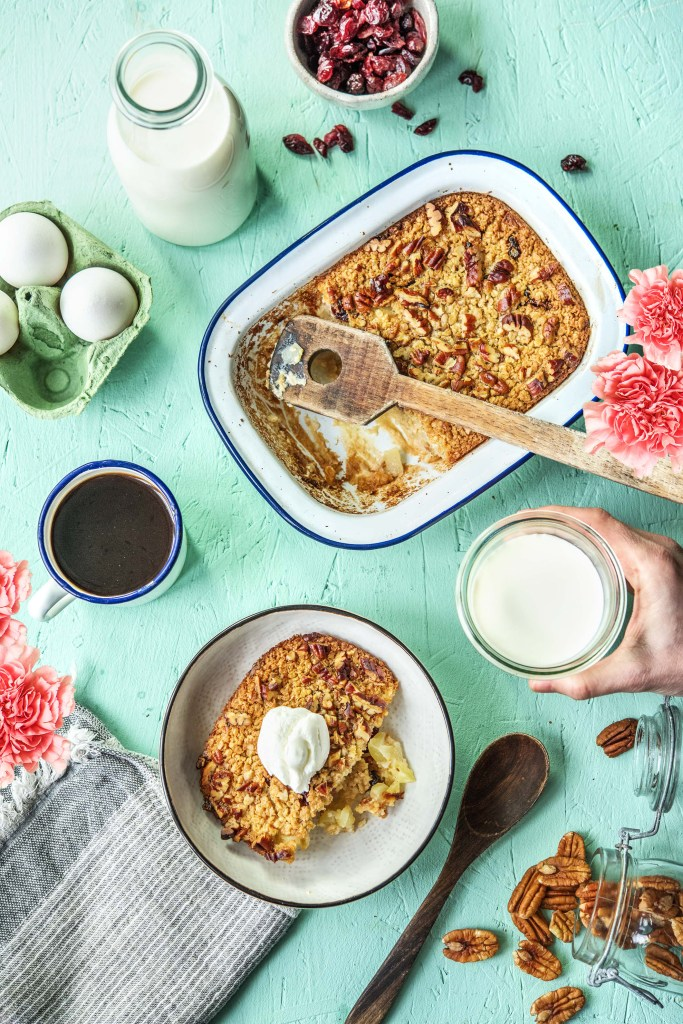 oatmeal bake-HelloFresh