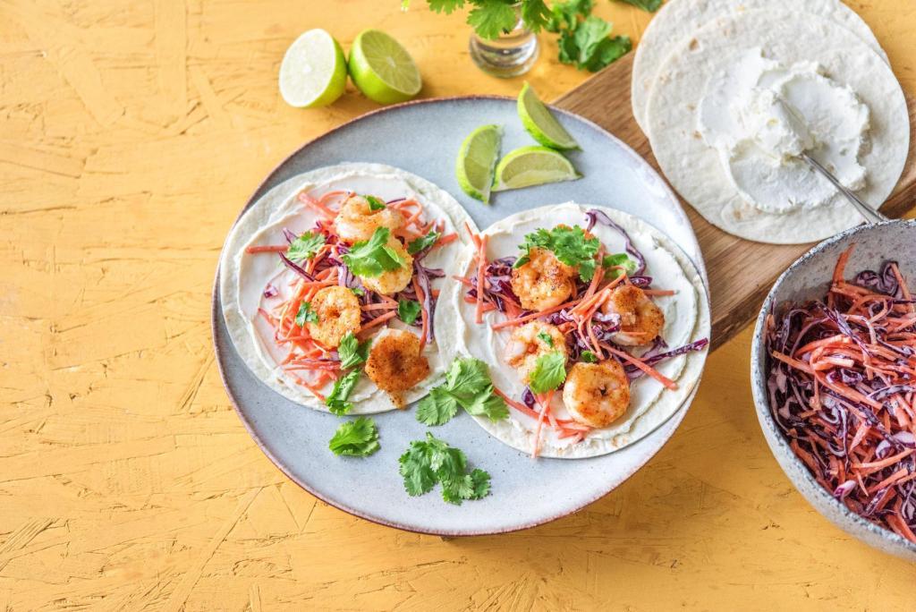 cilantro recipes-cinco-de-mayo-reservation-in-HelloFresh-crispy-shrimp-tacos