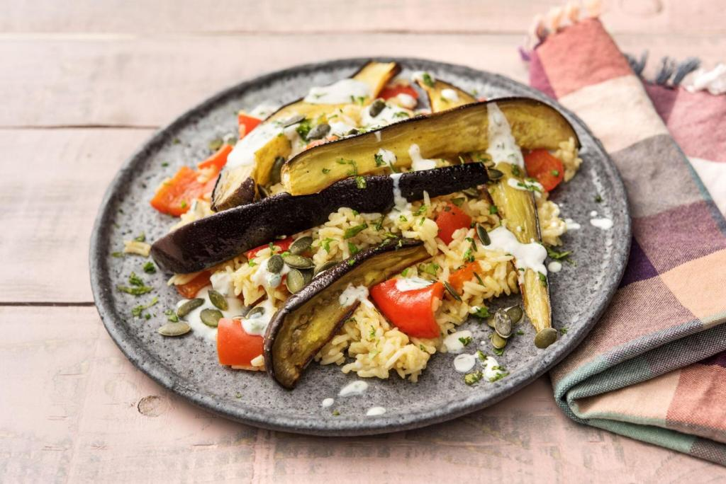 cilantro recipes-reservation-in-HelloFresh-Indian-eggplant-tandoori