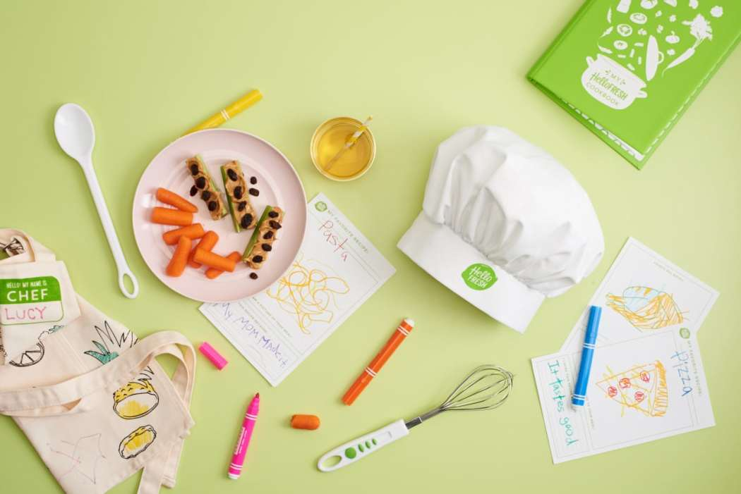 cooking supplies - kids kit - HelloFresh