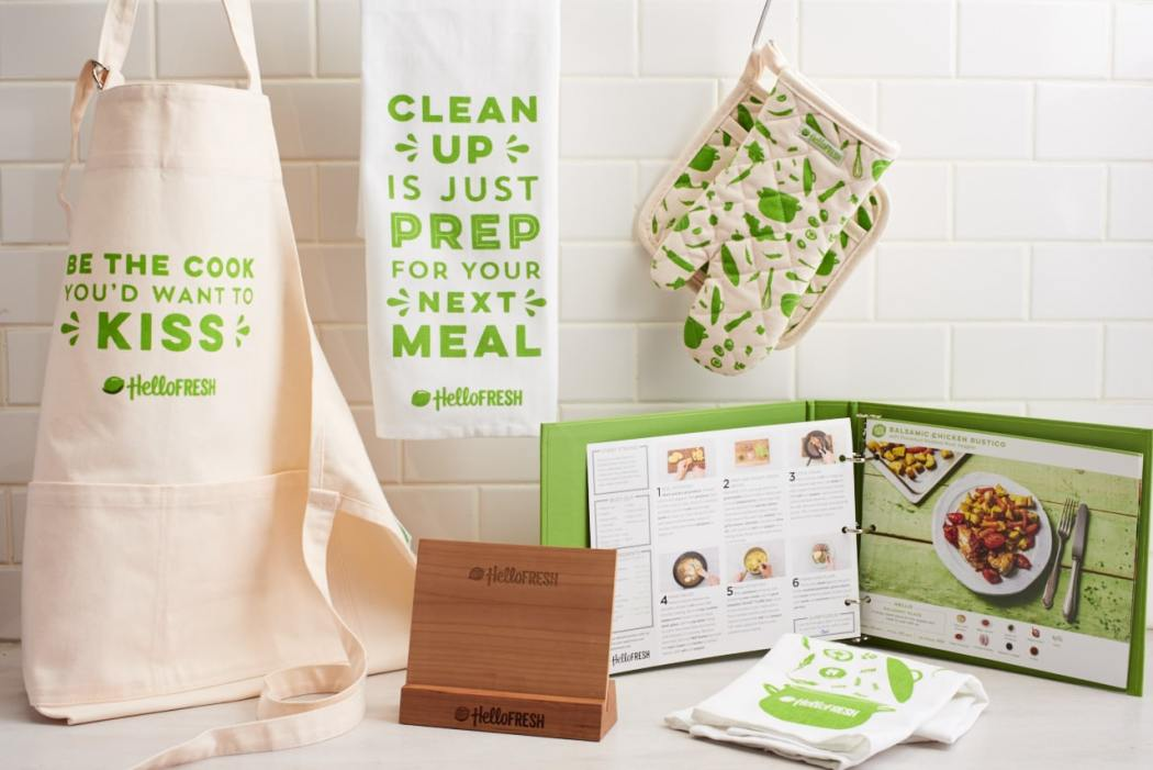 cooking supplies - HelloFresh
