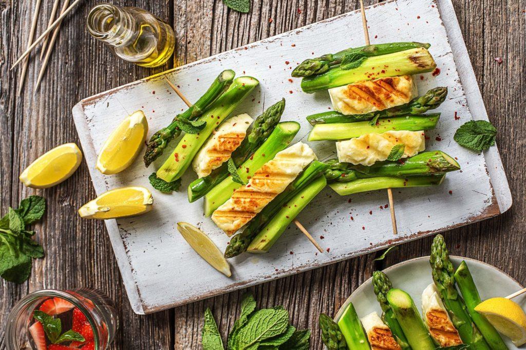 kebab recipe-HelloFresh-veggie skewers