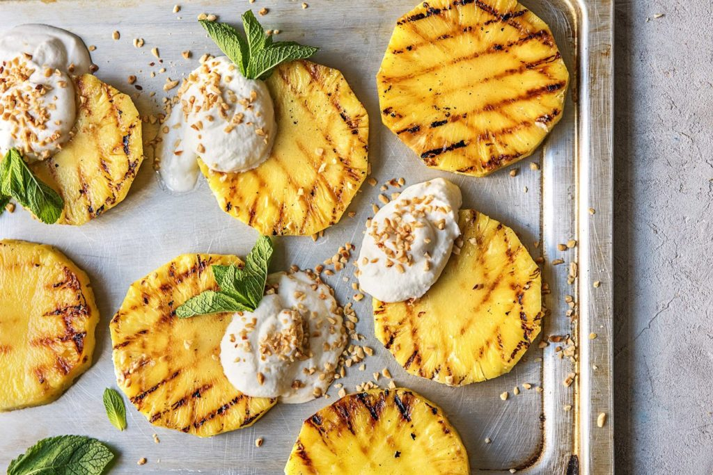 grilling recipes-grilled pineapple-HelloFresh