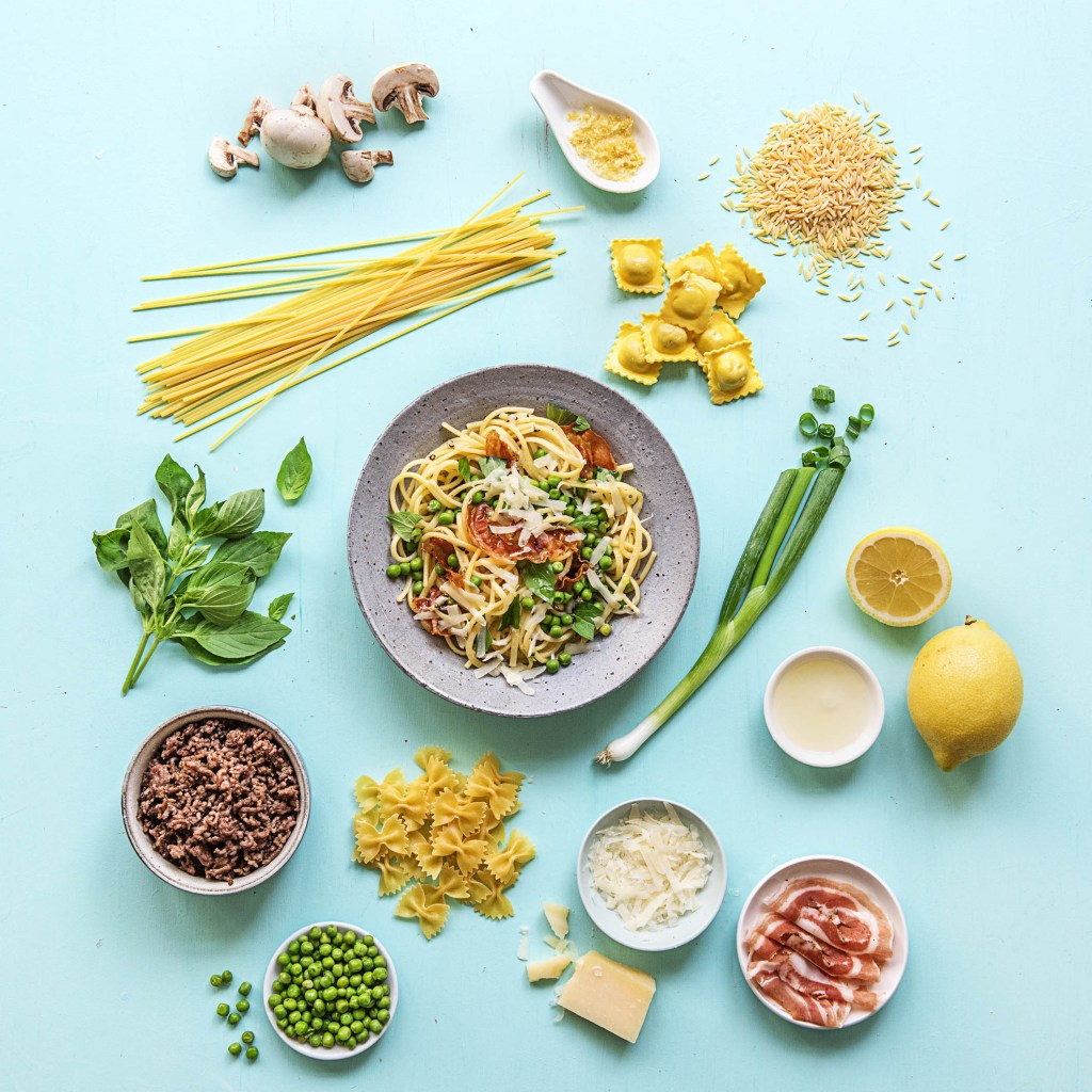pasta-food bar-HelloFresh