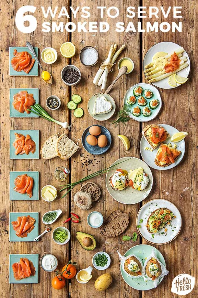 how to serve smoked salmon-recipes-infographic-HelloFresh