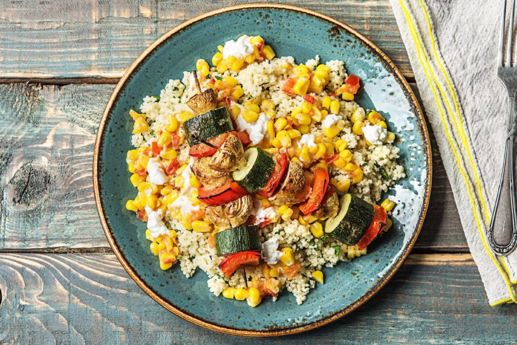 kebab recipe-veggies-HelloFresh