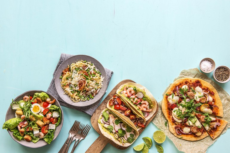 food bar-HelloFresh-super bowl recipes