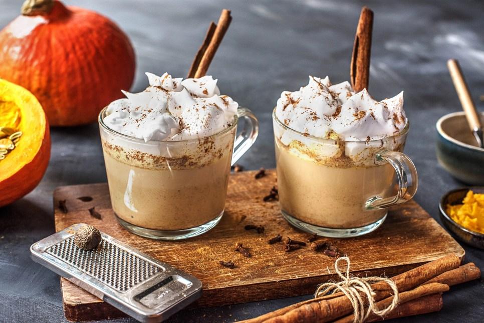 pumpkin spice latte recipe-HelloFresh