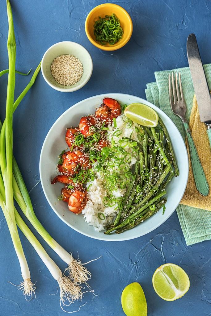 fried food-HelloFresh-sesame shrimp