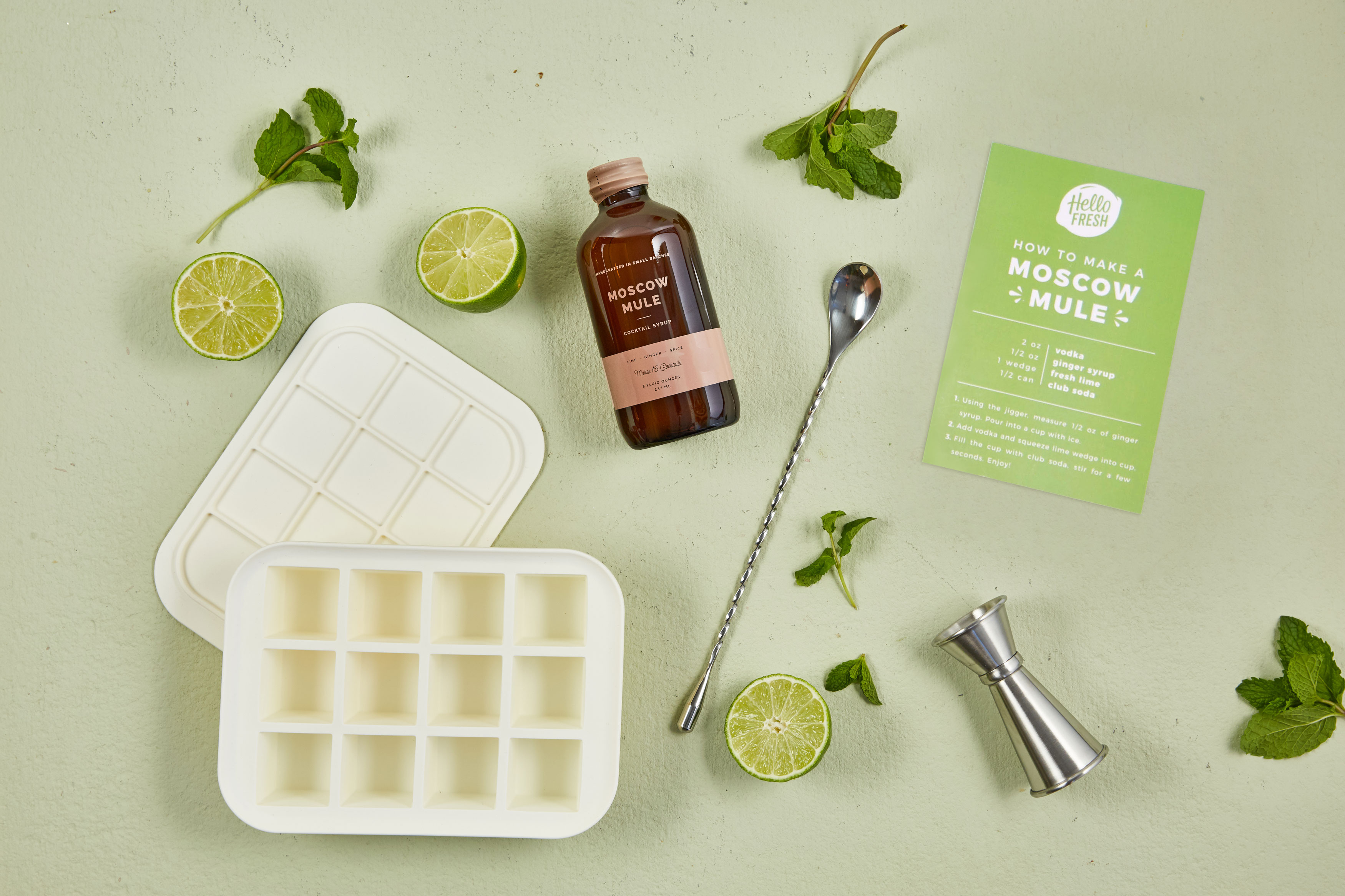 holiday drinks-moscow-mule-HelloFresh