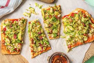brussels sprouts pizza-HelloFresh