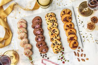 1 Batter, 4 Holiday Cookie Variations
