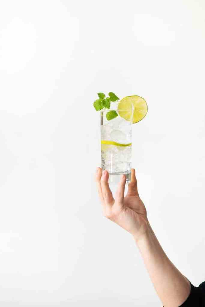 holiday drinks-mint-gin-tonic-HelloFresh