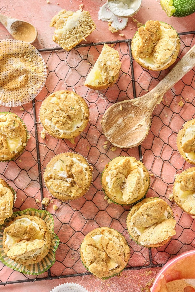 healthy dessert recipes-zucchini-muffins-HelloFresh