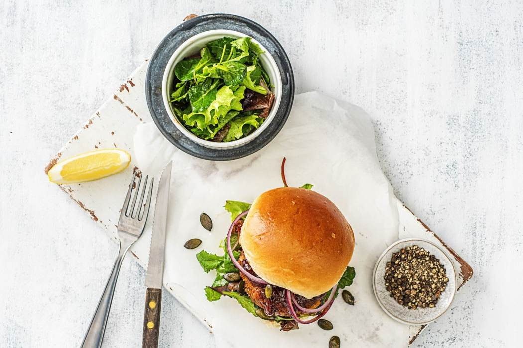 meatloaf burgers-HelloFresh-twenty minutes