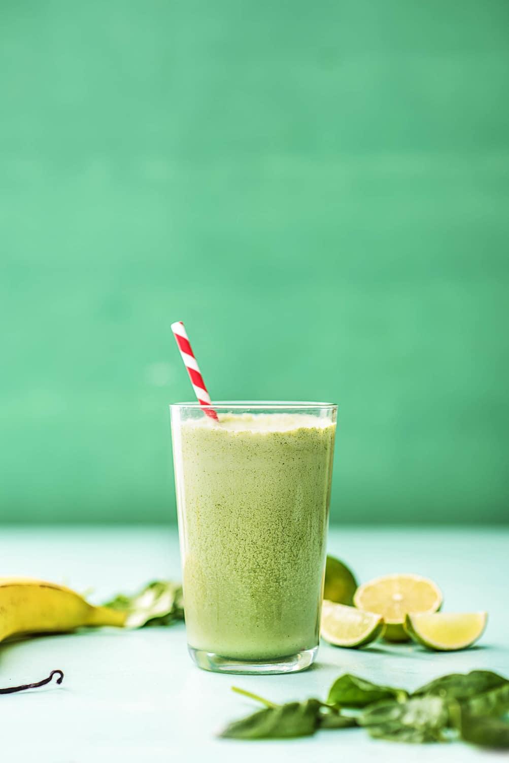 green smoothies-HelloFresh-key lime pie