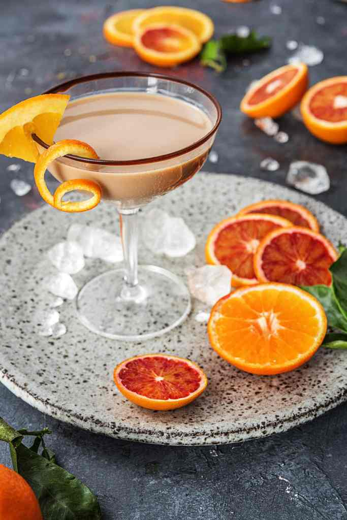 Orange Chocolate-HelloFresh-Dessert-Cocktail-Martini