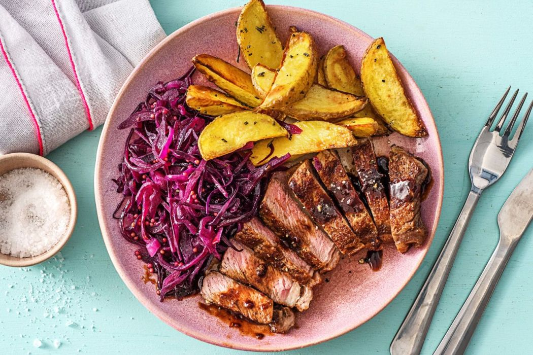 difference between jelly and jam-HelloFresh-steak and potatoes