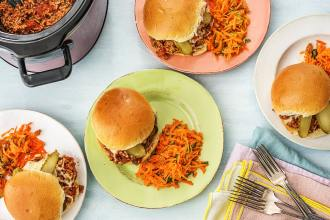 SLOW COOKER Sloppy Joes Kick Off Our Newest Menu Special