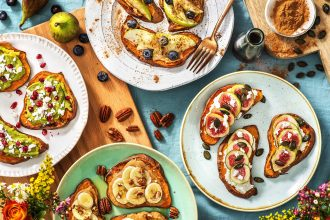 sweet potato toast-4-ways-recipes-HelloFresh