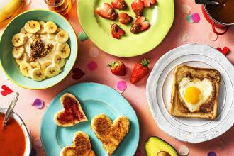 valentine's day breakfast ideas-HelloFresh-spread