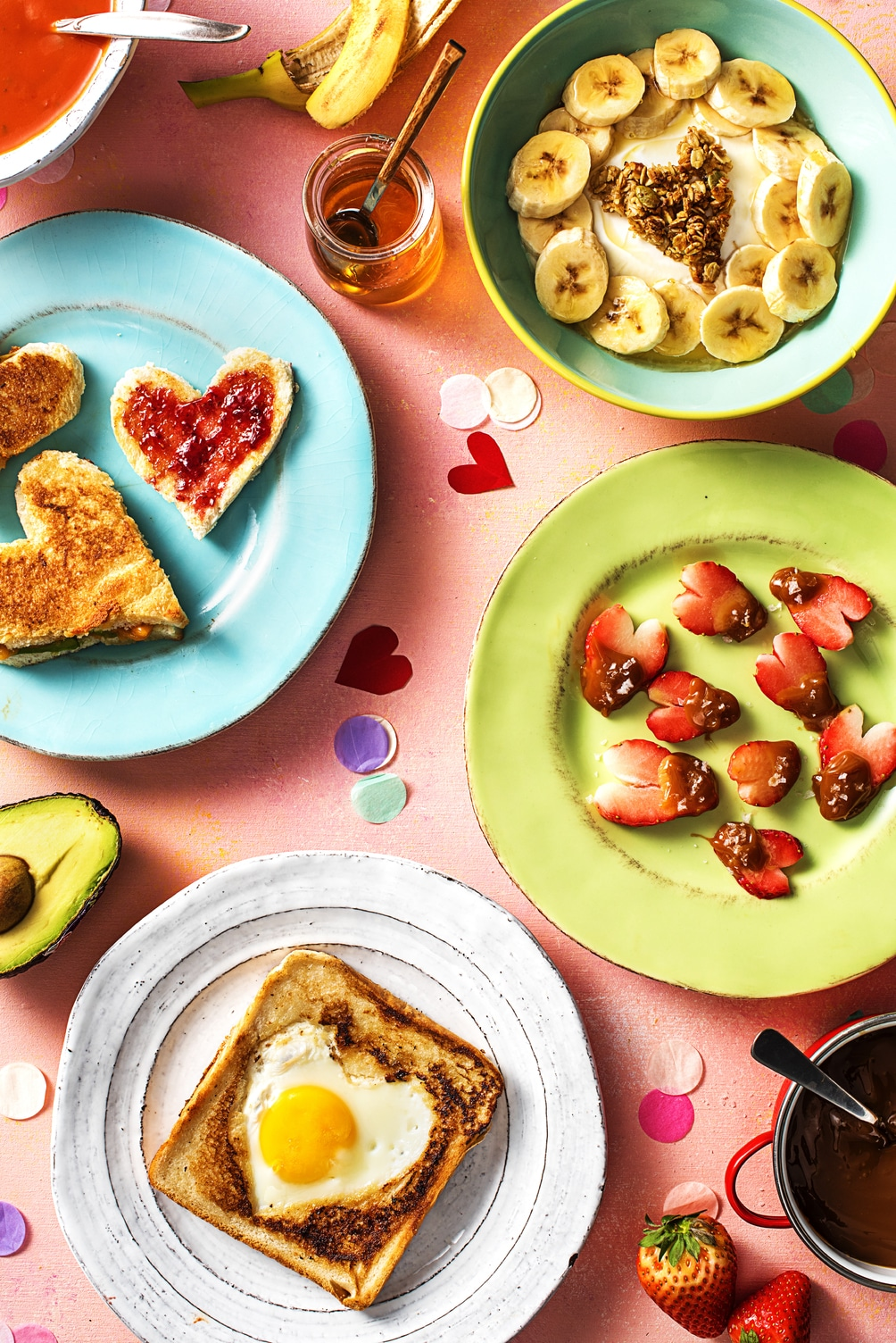 valentine's day breakfast ideas-HelloFresh-table