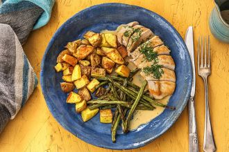 recipes with dill-HelloFresh-chicken-green-beans-potatoes