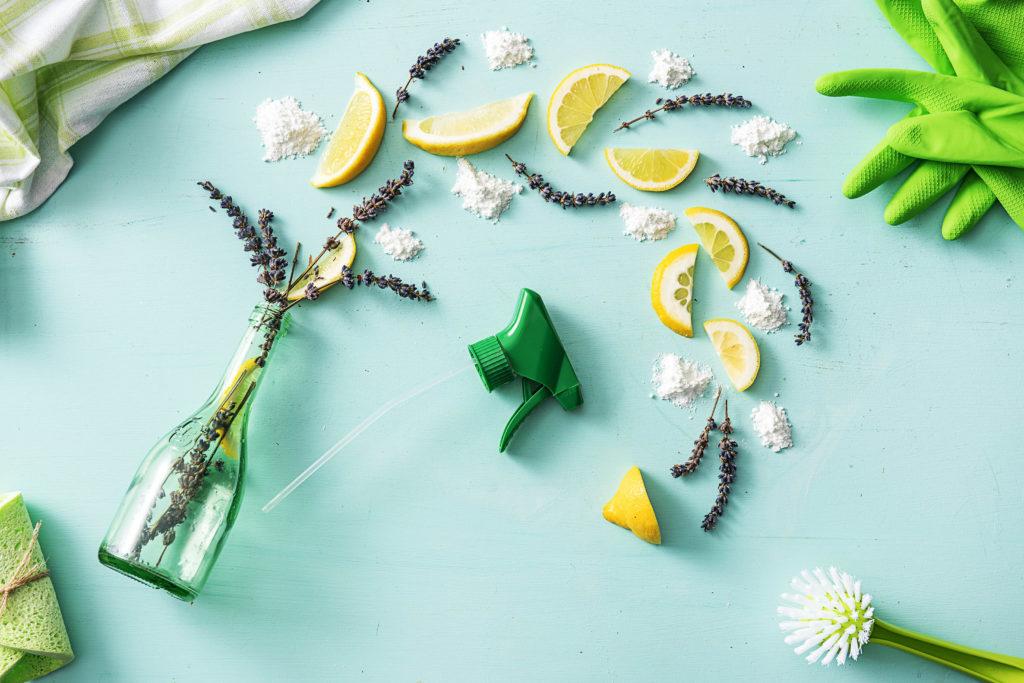 natural cleaning products-lavender-lemon-air-freshener-HelloFresh