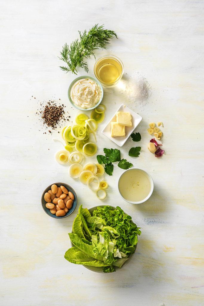 spring-summer soups-recipes-HelloFresh-lettuce-leek-soup
