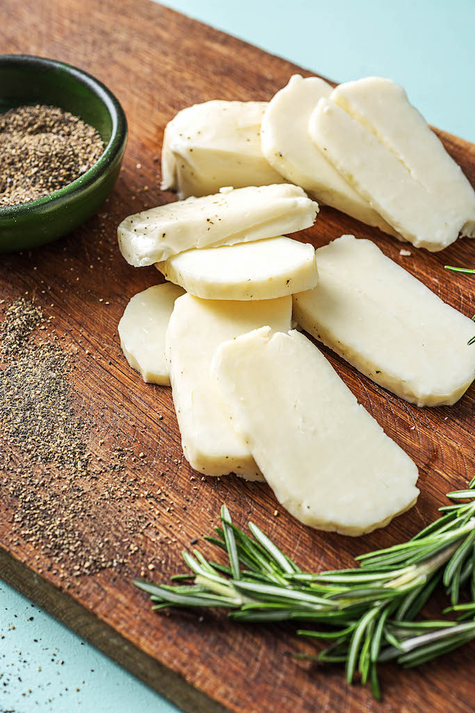 types of cheeses-halloumi