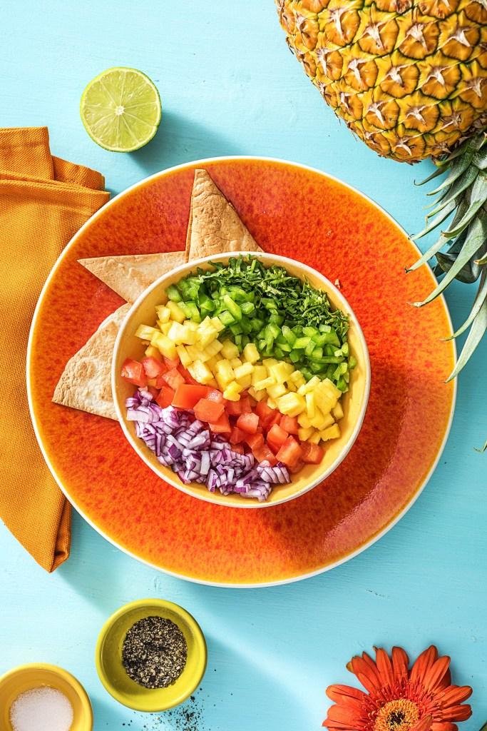homemade salsa recipes-pineapple-HelloFresh