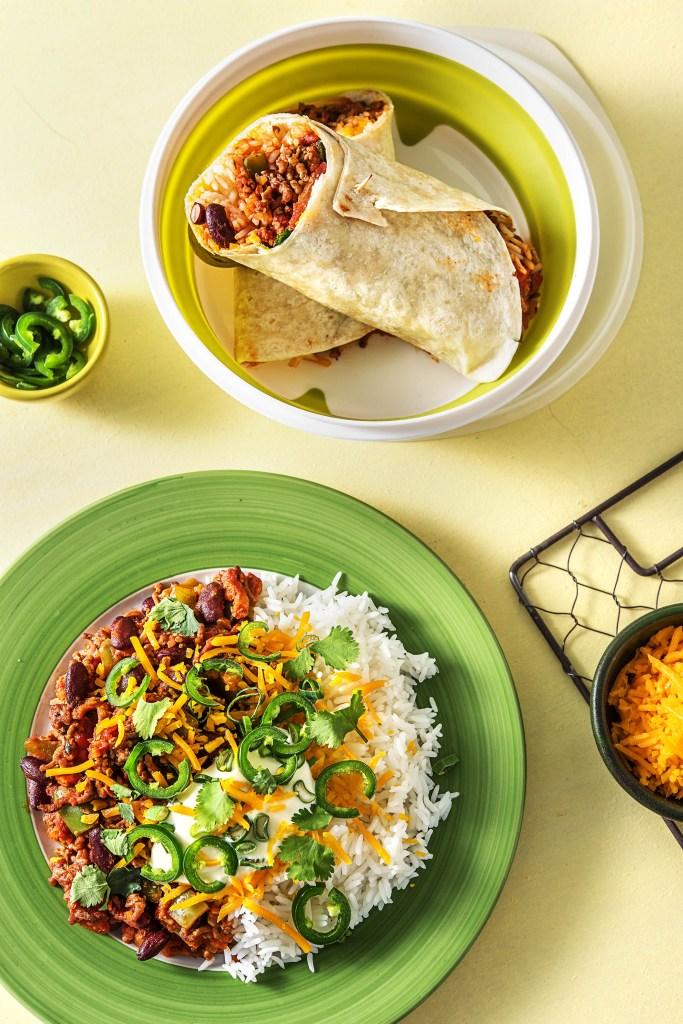 beef chorizo-chili-dinner-burrito-lunch-dinner-2-lunch-HelloFresh