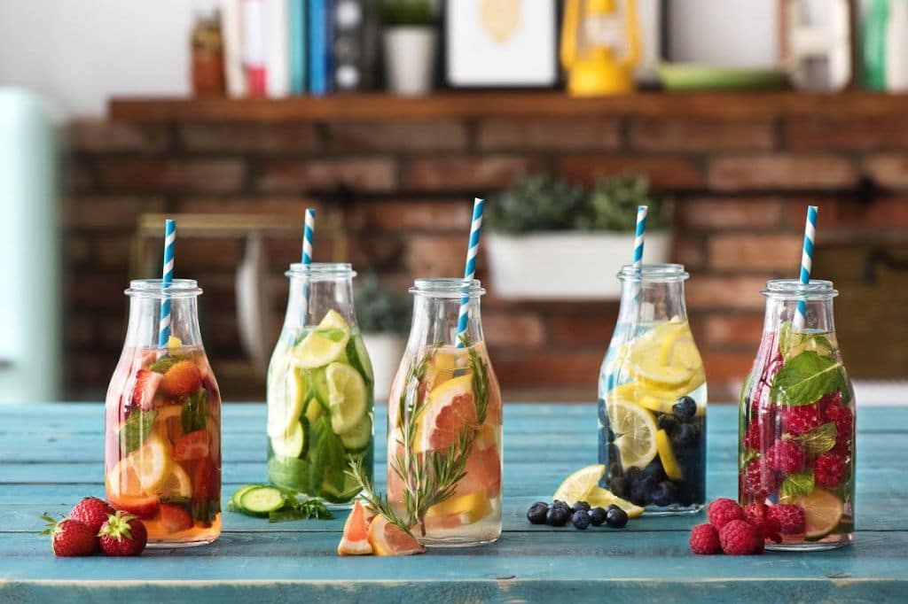 summer party-tips-tricks-recipes-HelloFresh-infused-water