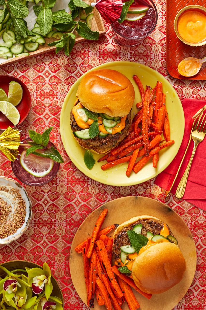 bánh mì-burgers-HelloFresh-Global Eats