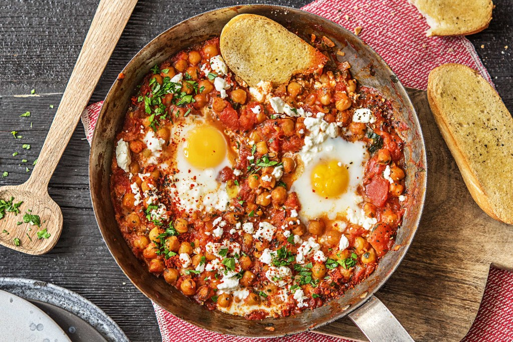 breakfast around the world-HelloFresh-Israel-Shakshuka