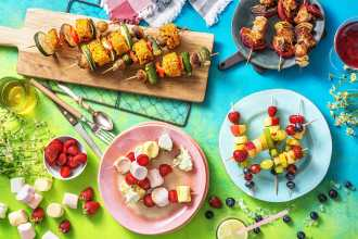 4 Sweet and Savory Skewer Recipes To Make This Summer