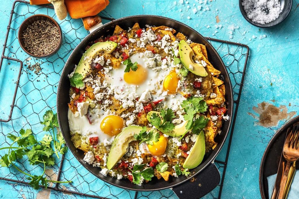 breakfast around the world-HelloFresh-Mexico-chilaquiles