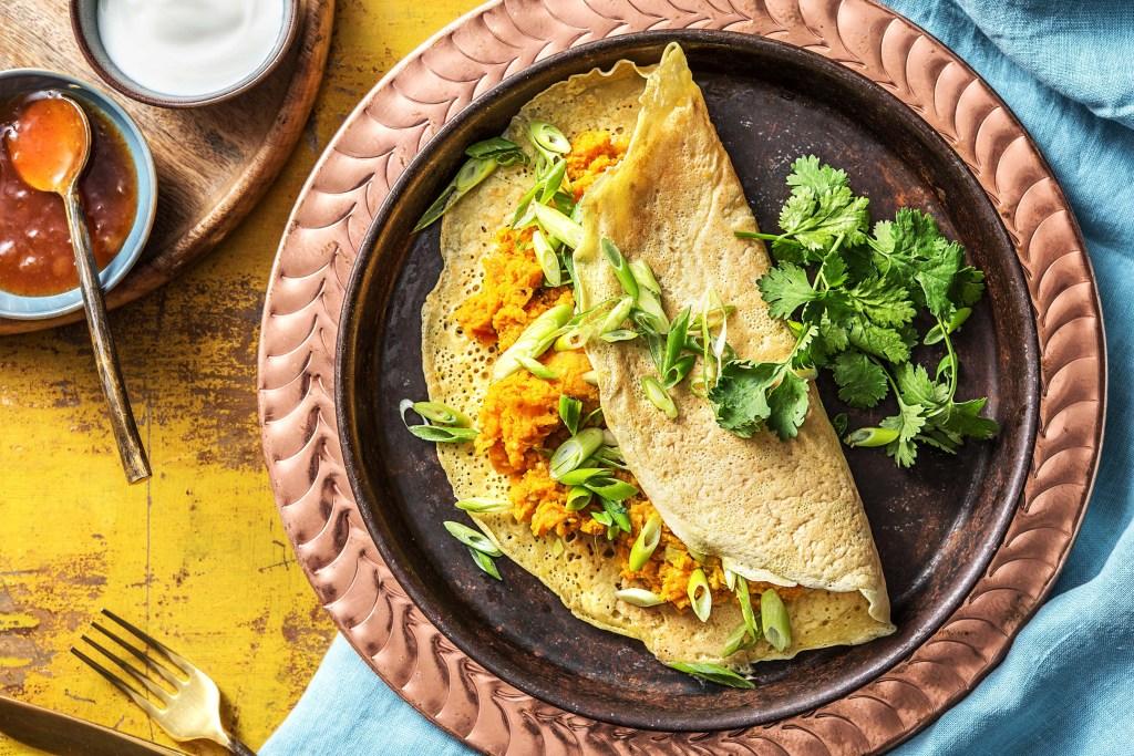 breakfast around the world-India-dosa-HelloFresh