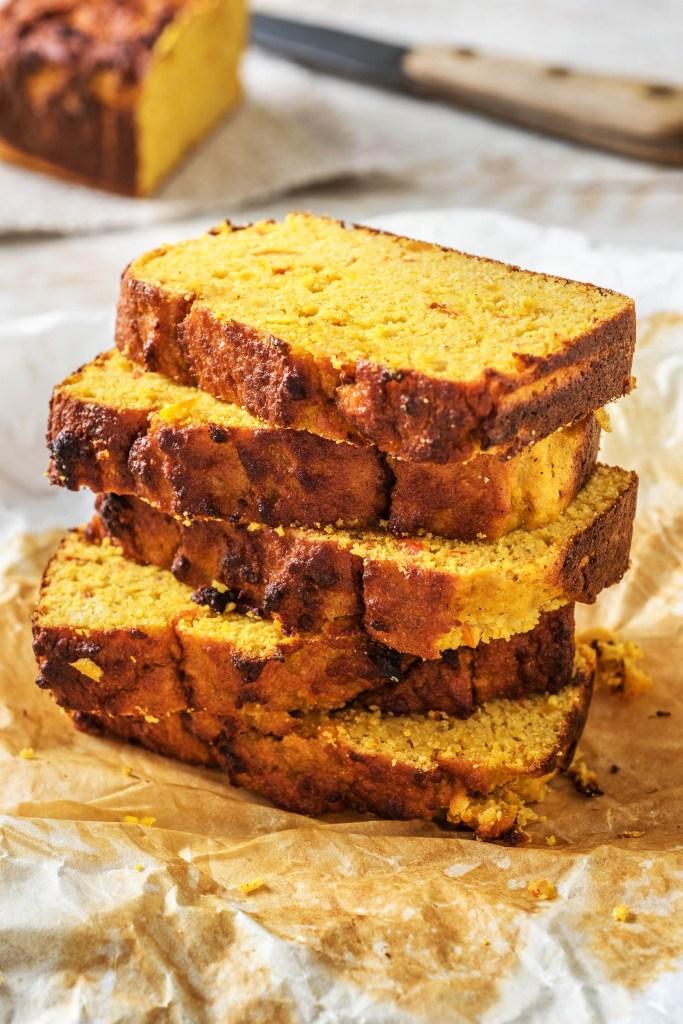 pumpkin spice recipe-HelloFresh-bread-loaf
