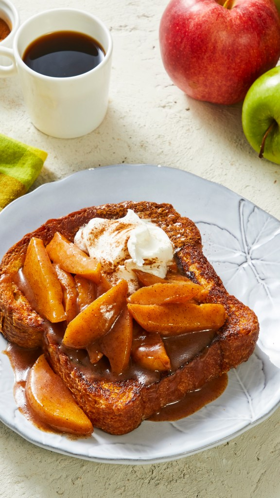 homemade French Toast-HelloFresh-recipes-apple pie